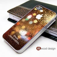 light silvery iphone 4 case iphone 4s case,eletroplate iphone 4 case Rain drop of water design ($16.99)