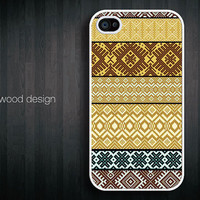 unique  iphone 4 case iphone 4s case iphone 4 cover unique case classic yellow style pattern design printing ($16.99)
