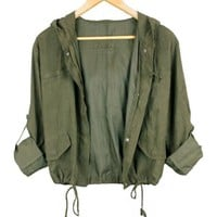 Short Hooded Jacket$41.00