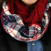 Finding Flannel Scarf