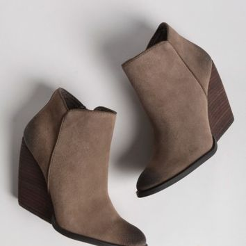 Whitby Demi Wedge Bootie