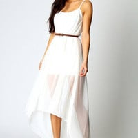 Stephanie Strappy Overlay Mixi Dress