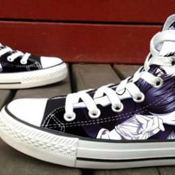 Anime Custom High Top Canvas Shoes for Women,men by HightShoes