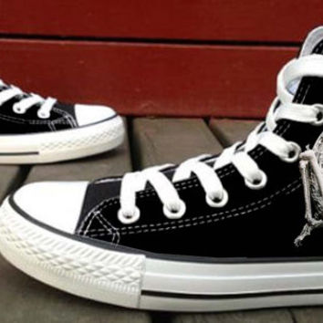 Skull Canvas Shoes for Women,men by HightShoes