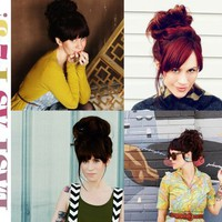 How To Style A Messy Bun - A Beautiful Mess