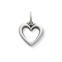 Open Wire Heart Charm | James Avery