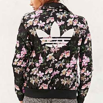adidas Orchid Track Jacket- Black Multi