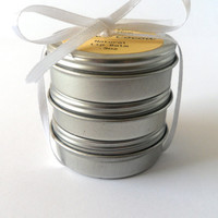 Organic Honey Cocoa, Grapefruit, & Orange Cocoa Lip Balm Trio, Gift Set, Natural Beeswax, Cocoa Butter, Hypoallergenic