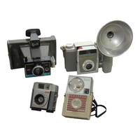 Pre-owned Decorative Vintage Camera Collection