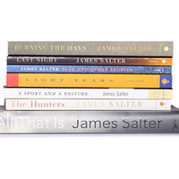 The James Salter Collection (8 Books) - The James Salter Collection