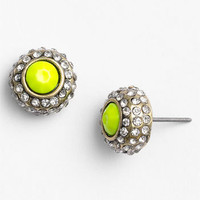 Carole Neon Rhinestone Stud Earrings | Nordstrom