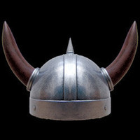 9th Century Viking Horned Helmet - AD254 by Dark Knight Armoury