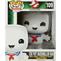 "Funko Ghostbusters Pop! Movies Stay Puft Marshmallow Man 6"" Vinyl Figure"