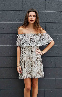 Can Can Dress ~ Teacup Brown | Show Me Your Mumu