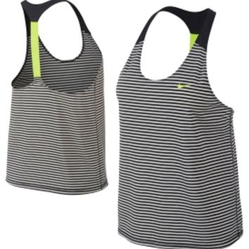 Nike Women's Elastika Stripe Tank Top | DICK'S Sporting Goods