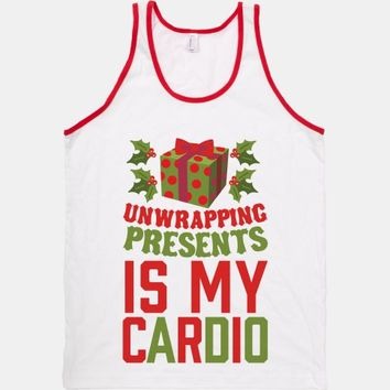 Unwrapping Presents Is My Cardio