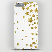 Starry Magic - White iPhone & iPod Case by Lisa Argyropoulos