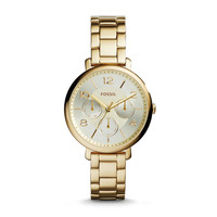 Modern Jacqueline Multifunction Stainless Steel Watch - Gold-Tone