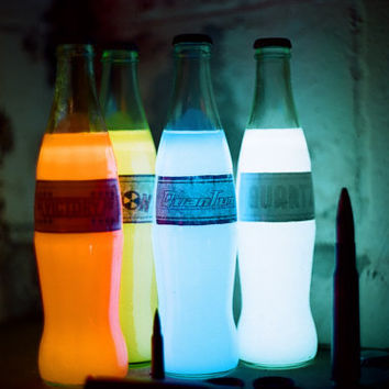 Glow in the Dark Quad Pack: The Glow in the Dark Quantum/Victory Glow In the dark Bottle/Fusion Cola Glow in the Dark/Quartz Glow in he Dark