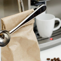 Kikkerland Design Inc » Products » Coffee Scoop Bag Clip