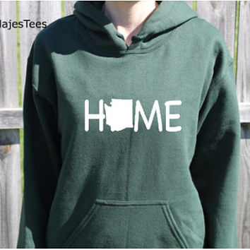 Washington Home Hoodie, Washington Sweatshirt