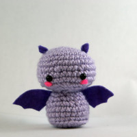 Crochet Fritz the Fruit Bat