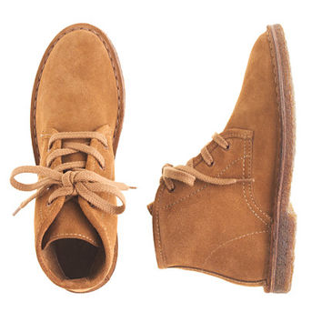 crewcuts Boys Suede Macalister Field Boots