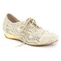 West Coast Wardrobe Luxe Lace Oxford