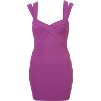 Petite Bandage Bodycon Dress - TopShop - Polyvore