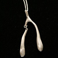 repaired wishbone by ElyseHradecky on Etsy