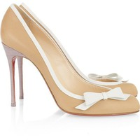I love love / Christian Louboutin | Beauty 100 leather pumps | NET-A-PORTER.COM