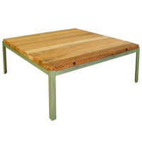 RECLAIMED WOOD OUTDOOR COFFEE TABLE