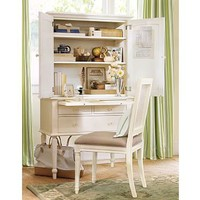 Anna Desk &amp; Hutch | Pottery Barn