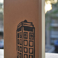 Doctor Who TARDIS Pocket Moleskin Journal