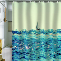 DENY Designs Home Accessories   Lisa Argyropoulos Sailin Shower Curtain