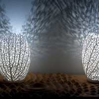 Hyphae Lamp by Nervous System | Design Milk