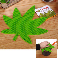 MARIJUANA &amp;quot;POT&amp;quot; HOLDER POTHOLDER