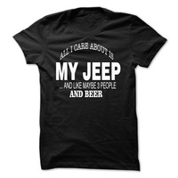 MY JEEP AND BEER !