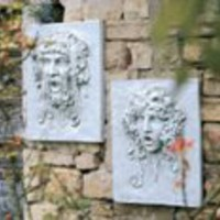 Wall Art | Opimus and Vappa Italian-style Wall Sculptures