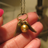 BABY golden snitch FREE SHIPPING by Exit7treasures on Etsy