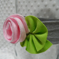 Baby/Children Pink Rose Headband