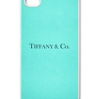 iPhone 4 case iPhone 4s case - Tiffany & Co. Blue Box Design iPhone Hard Case-graphic Iphone case