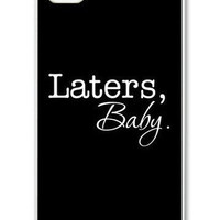 iPhone 4 case iPhone 4s case - 50 Shades of Grey Laters, Baby  iPhone Hard Case-graphic Iphone case