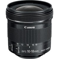 Canon - EF-S 10-18mm f/4.5-5.6 IS STM Ultra-Wide Zoom Lens - Black