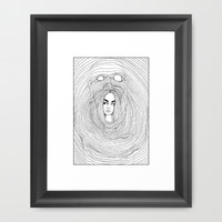 Soothsayer Framed Art Print by Winter Made