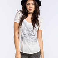 O'neill Owl Eclipse Womens Tee Off-White  In Sizes