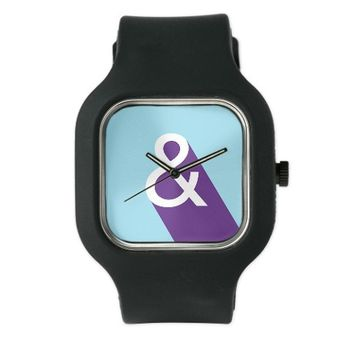 Ampersand - Blue And Purple Watch