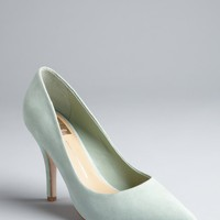 Dolce Vita soft mint suede