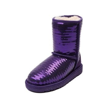 Youth/Tween UGG® Classic Sparkle Boot