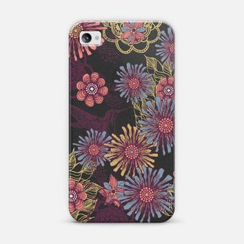 Hummingbird iPhone 4/4S case by Rose | Casetify